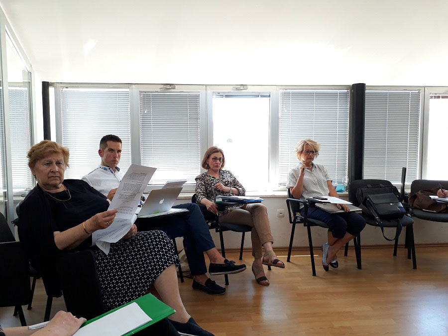 The third focus group was held and the fifth meeting of the Working Group