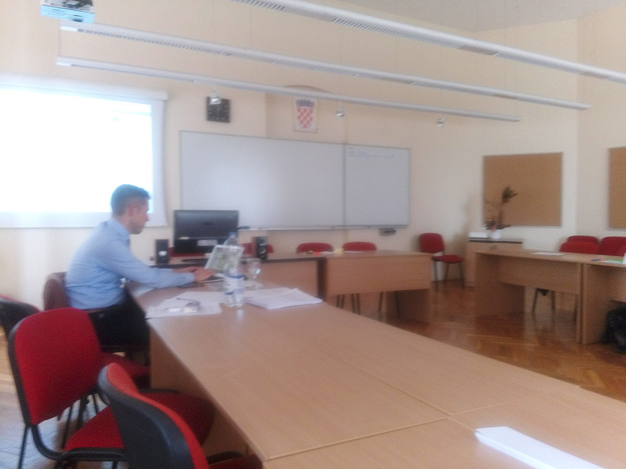 Two focus groups were held at the Rectorate of the Josip Juraj Strossmayer University in Osijek