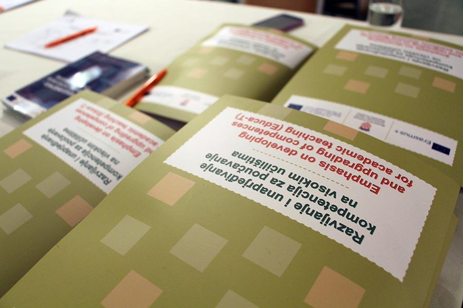 Educa-T: Razvijanje i unaprjeđivanje kompetencija za poučavanje na visokim učilištima
